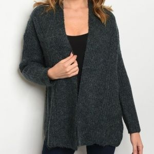 COPY - Green Cardigan with Long Sleeves